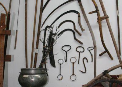 Museum farm tools