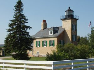Lighthouse, tucked and shuttered in 2009