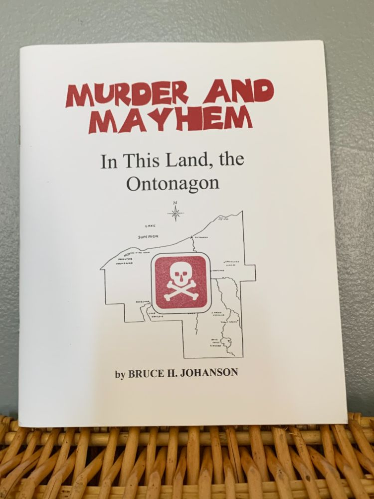Bruce Johanson Book Collection - Murder Book